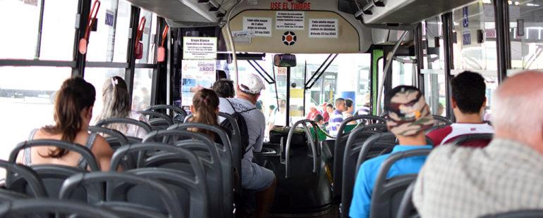 Beneficios de usar transporte público